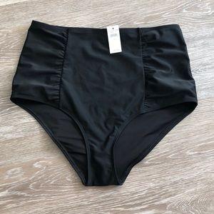 🎉 Aerie Black High Waisted Bathing Suit Burton's